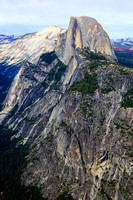 Half Dome from Glacier Point, (vertical)
